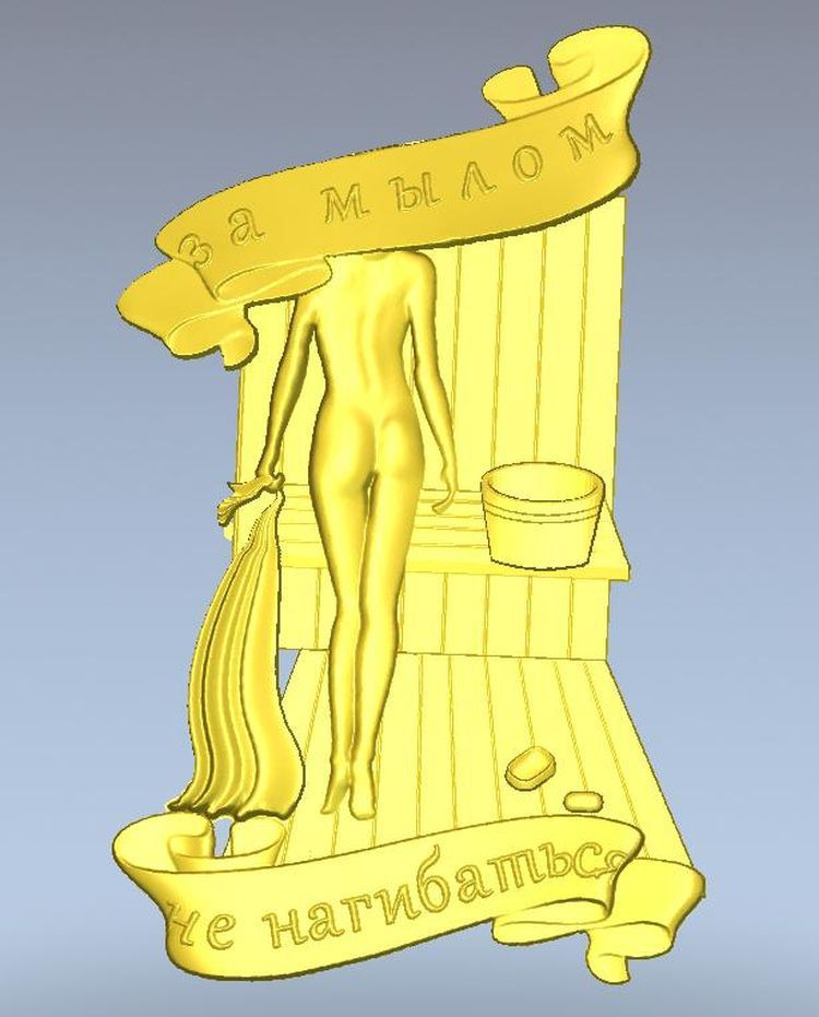 3d model relief  for cnc in STL file format Panno_Za_mylom 3d model relief for cnc in stl file format chest leg furniture leg 78