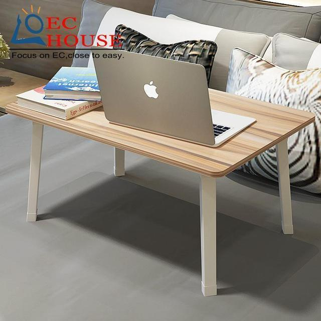 BSDT YST Simple notebook comter desk with folding bed dormitory artifact lazy study table FREE SHIPPING