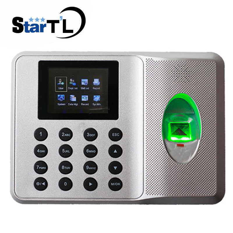 Zk SSR Fingerprint Time Clock Auot Excel Report Fingerprint Time Attendance Employee Electronic Time Recorder No Need Software inclined bang short layered straight colormix human hair wig