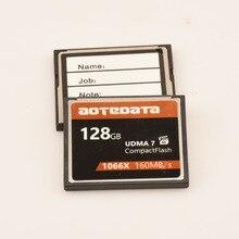 عالية السرعة!!! 128 جيجابايت بطاقة CF الذاكرة بطاقة بطاقات فلاش المدمجة كومباكت 1066x UDMA7 160 برميل/الثانية