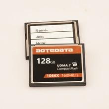 Haute vitesse!!! 128 GB CF carte mémoire cartes Flash compactes Compactflash 1066x UDMA7 160 mo/s
