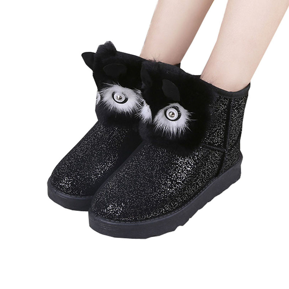 Popular Fur Snow Boots Women-Buy Cheap Fur Snow Boots Women lots ...