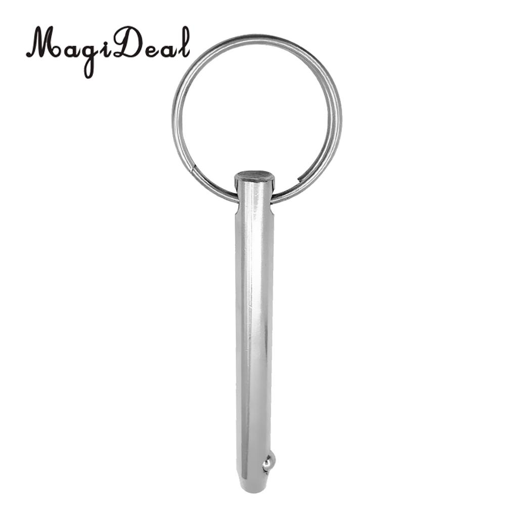 US $1 67 23% OFF|MagiDeal Marine Grade Stainless Steel Spring Loaded Ball  Style Bimini Top 5/16