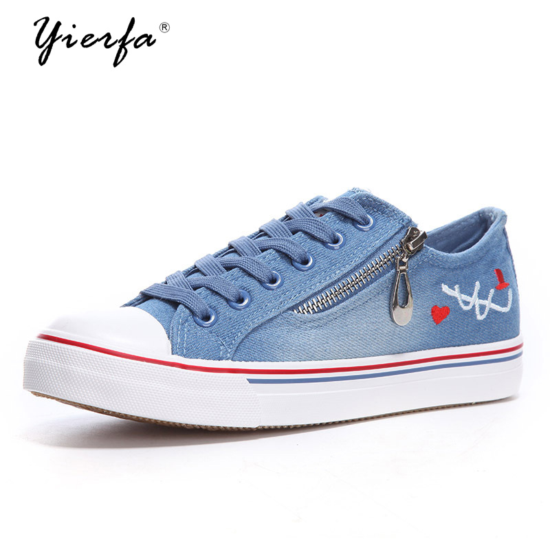 women shoes spring new embroidery zipper denim canvas shoes factory direct wholesale generation tide shoes chimole a910 high quality high power 300w 9 inch high definition display dvd player portable square speakers