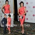 Kim Kardashia 2010 Cosmetic Executive Women Beauty Awards Celebrity Gowns Evening Dresses CD040