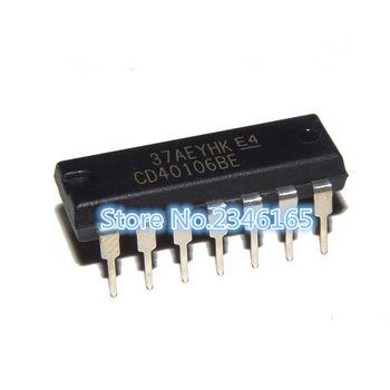 10 sztuk CD40106BE DIP14 CD40106 DIP 40106BE DIP-14 nowy i oryginalny IC tanie i dobre opinie Ogólnego przeznaczenia High power Przekaźnik czasowy Uszczelnione 250 V