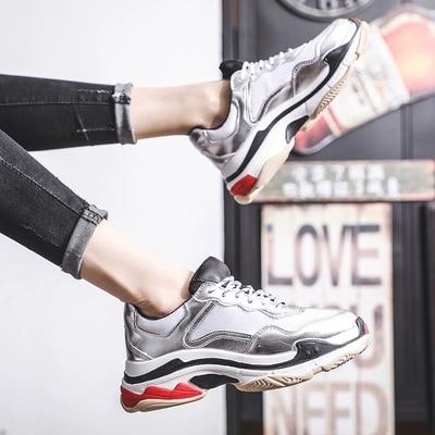 145c4494aa8 Mujeres Marea 2 Harajuku Las Coreana Nueva 1 Versión Primavera Zapatos De  Rojo 2019 qv8Rgwn7