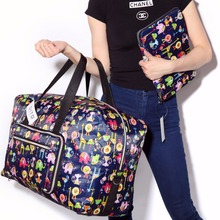 Fashion WaterProof Travel Bag Large Capacity Bag Women nylon Folding Bag Unisex Luggage Travel Handbags Free Shipping