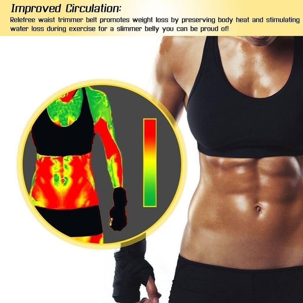 22965ecfaf Neoprene Waist Belt Sweat Premium Waist Trainer Trimmer Belt Body Shaper  Hot Shapers Waist Cincher For Men Women