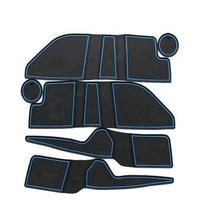 Dongzhen автомобиля Нескользящие напольные Подушки двери Коврики Чехлы для мангала чашки Коврики Стикеры Салонные подложки подходит для Ford Mondeo ЧИА -X 2007-2013