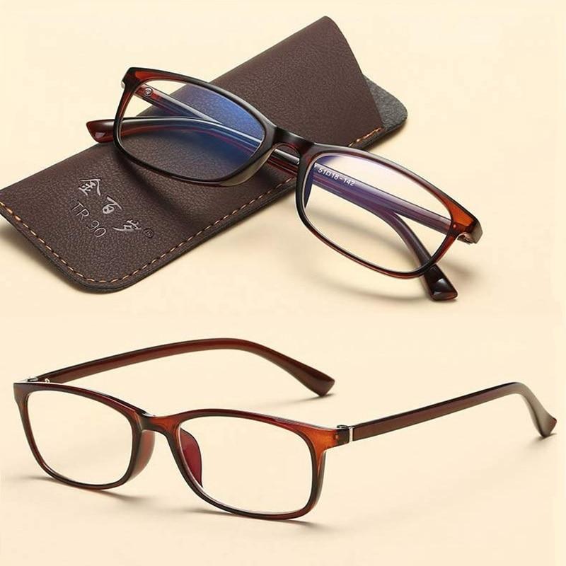 Kacamata baca Anti Blu-ray Kenyamanan Pria HD Elegan Anti-kelelahan - Aksesori pakaian - Foto 2