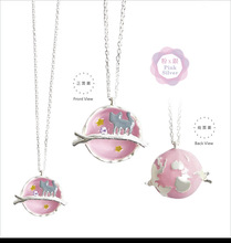 Galaxy Cat Colorful Necklace