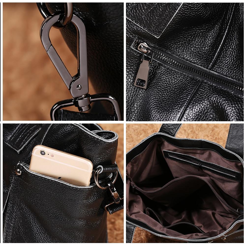 2018 Ladies Large Capacity HandBags Popular Big Tote Bags Women Top - Beg tangan - Foto 5