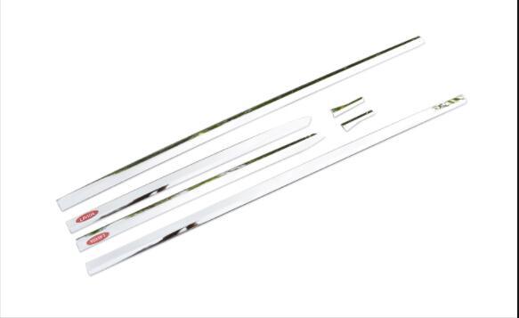 La barre de décoration de corps est particulièrement conçue pour VW 2018 Lavida plus la modification anti-rayures de bord de porte d'acier inoxydable