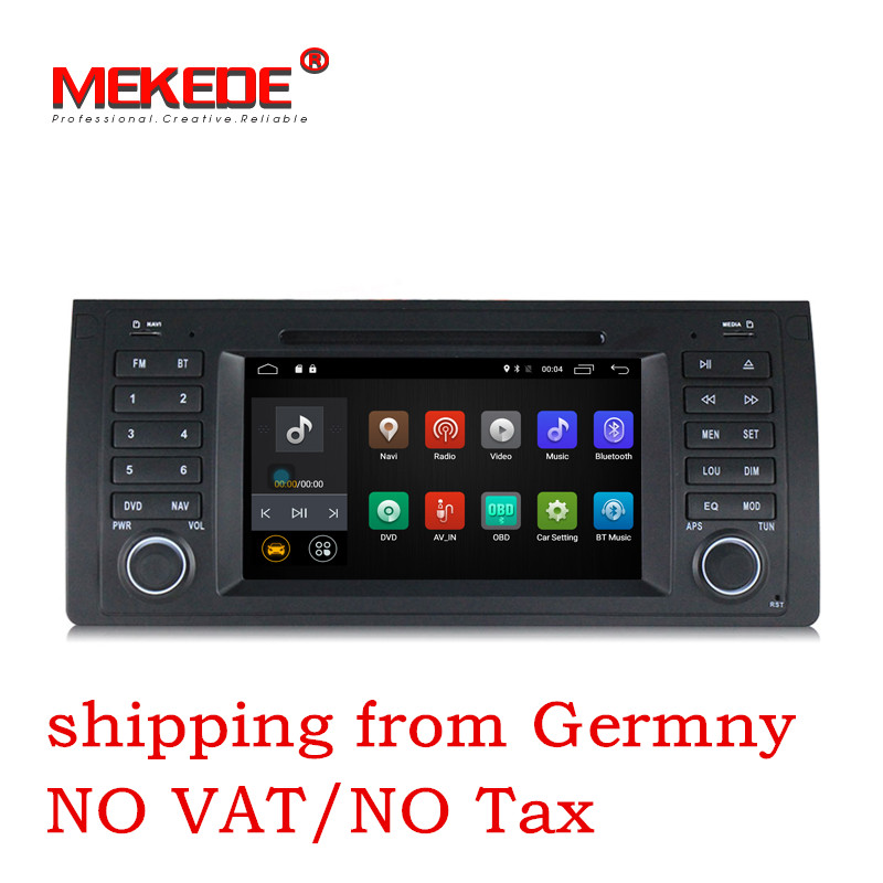 7 inch Android 7 1 for bmw E39 X5 M5 E53 font b car b font