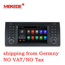 7 inch Android 7.1 for bmw E39,X5,M5,E53 car dvd,gps,wifi,4G,radio RDS,canbus,quad core,1024×600,support obd2,dvr,russia