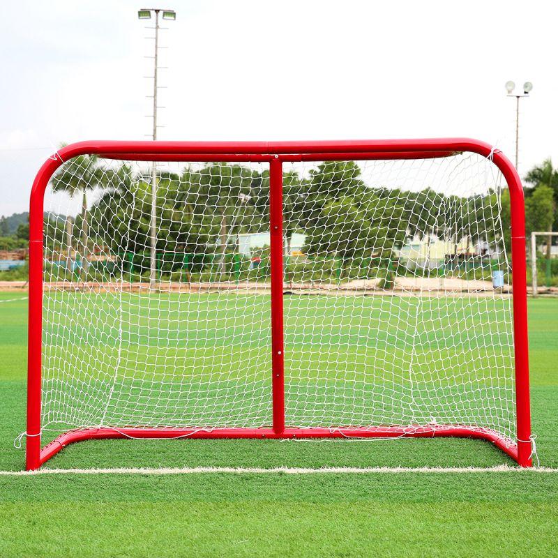 Objectif de football pliant Portable enfant Pop Up buts de football pour enfants Sports d'entraînement cour de jeux Sports de plein air de haute qualité