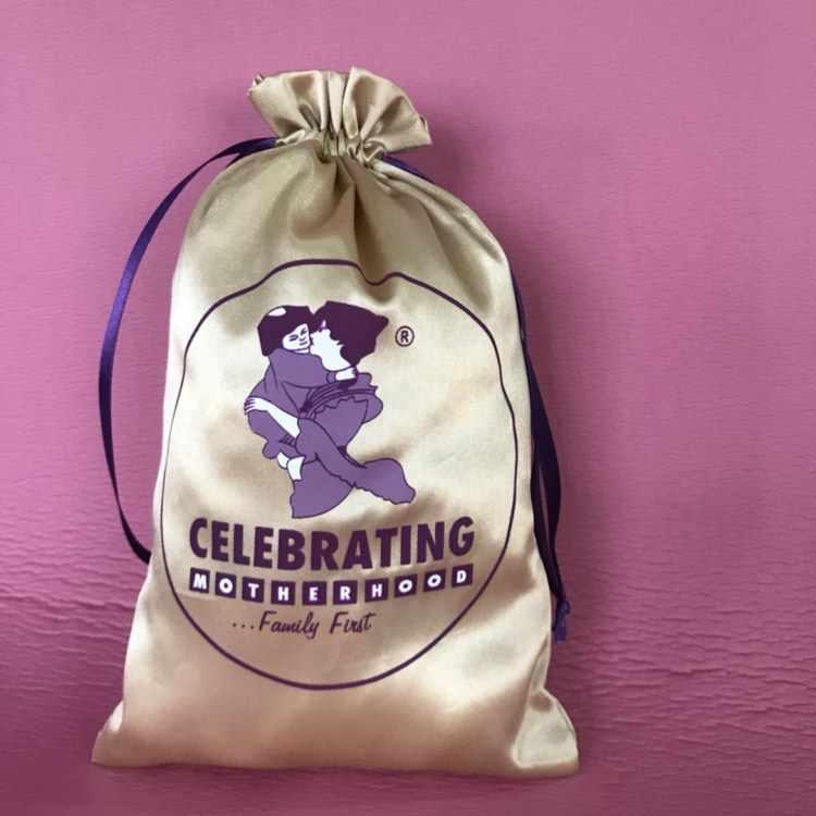 Jedwab torby biżuteria satynowa torba opakowanie produktu torebki niestandardowe Logo torby ze sznurkiem sprzedaż hurtowa