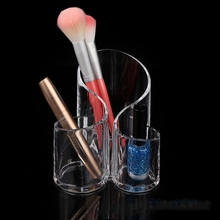 Acrylic Makeup Brush Organiser Cosmetic Holder Makeup Display Rack Box Storage Box Rangement Newest