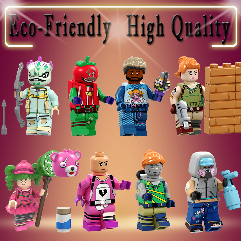 Single Sale Building Blocks Game Zoey Cuddle Team Leader Tekni Que Chromium Leviathan Figure For Children Toys PG8203