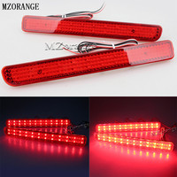 MZORANGE 2Pcs 12V LED Tail Light Rear Bumper Reflector For Range Rover Sport L320 For Discovery