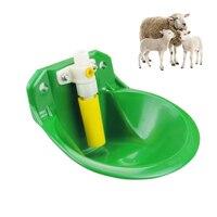 Автоматическое козел овец чаша-поилка корова кормушка для скота Пластик питьевой животных оборудования свинья подачи воды питьевой диспен...