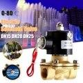 1/2 3/4 1 дюйм AC220V Электрический Соленоидный клапан DN15 DN20 DN25 пневматический клапан для воды  воздуха  газа  латунный клапан  воздушные клапаны