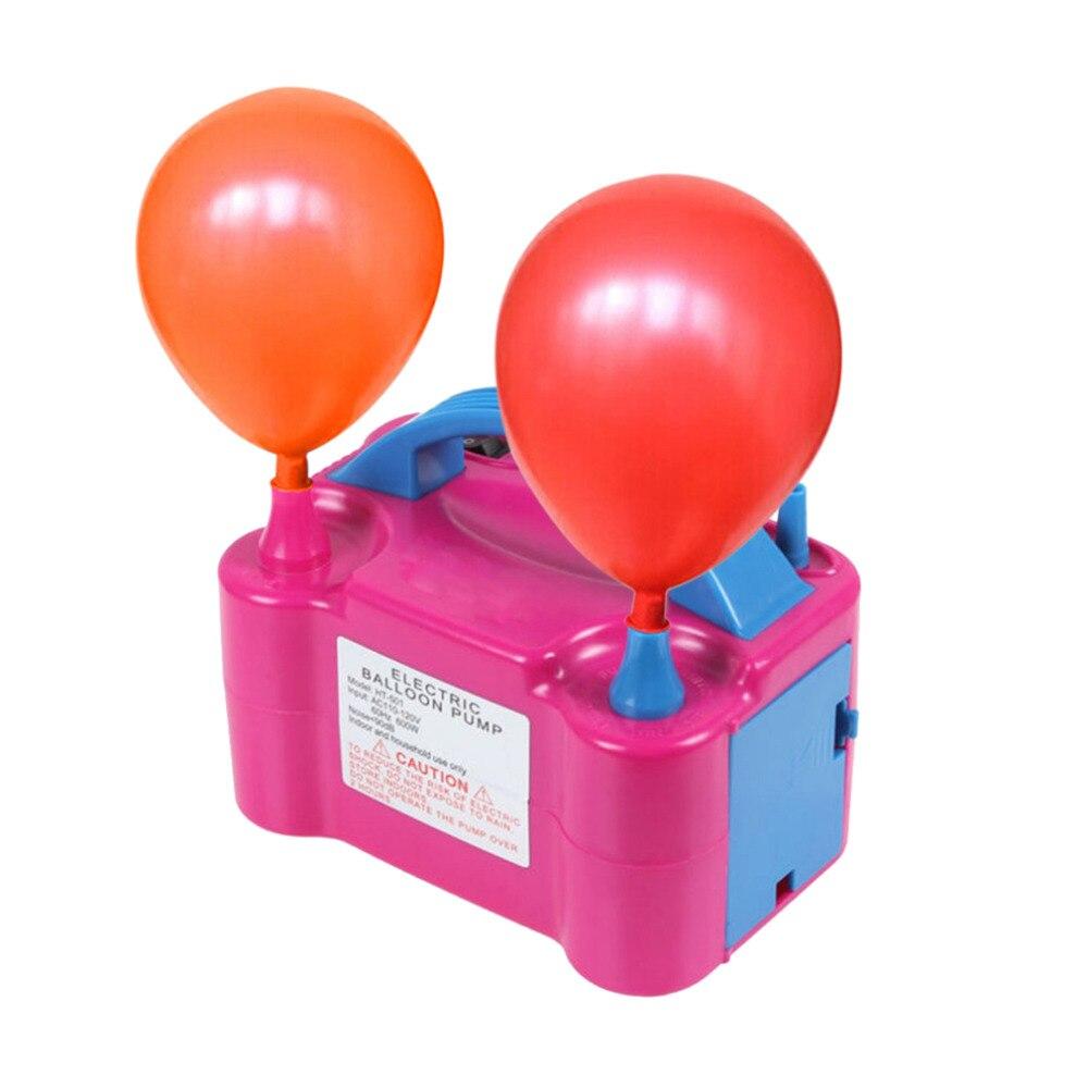 Balões Decoração Do Partido Balão Bomba elétrica 220V Air Blower Bomba para Máquina Não Balão de Hélio Balões Portátil plugue DA UE