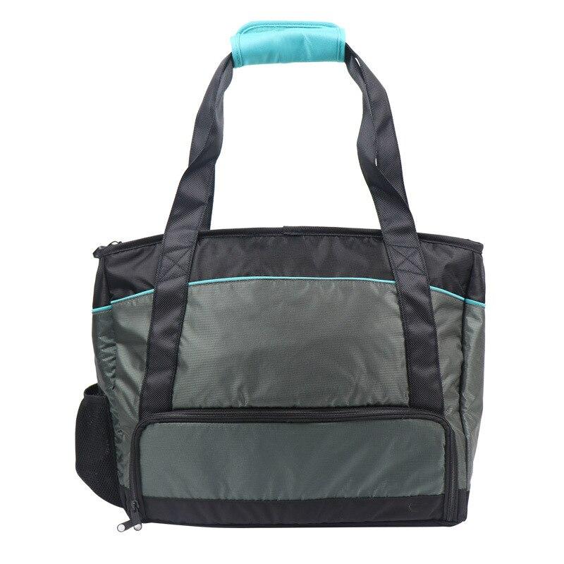 2019 Thermische Isolierung Mittagessen Box Handtasche Frauen Lagerung Container Tote Handtaschen Tragbare Essen Picknick Kühltasche Bolsa Termica