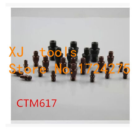 Free Shipping 10pcs CTM617 CNC Turning Tools Center Pin  Turning Tool Holder Accessories