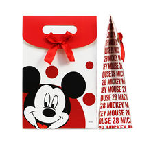 6pcs 26X17X8cm Mickey Gift Bag Kids Birthday Gift Box mickey Candy Box Party Decoration Supply(China)