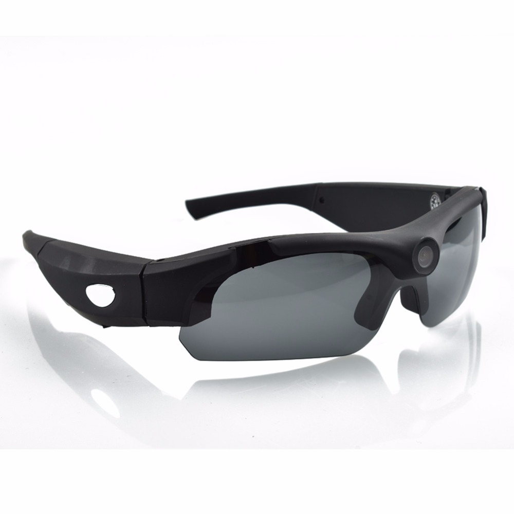 4484567f495 SM16 HD 1080P Sunglasses Camera Mini Camcorder Eyewear Video Recorder Wide  Angle 120 Degrees Sports Glasses Support TF Card