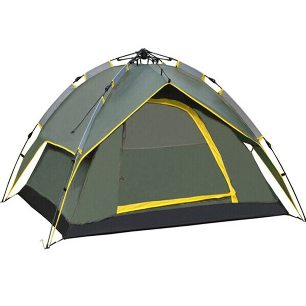 все цены на Throw Tent Outdoor Automatic Tents Waterproof Camping Hiking Tent Waterproof Large Family Tents NEW