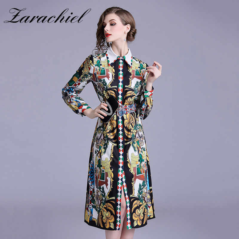 9cc88c0492371 Detail Feedback Questions about 2019 Autumn Designer Runway Shirt ...