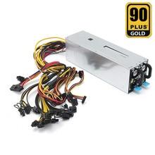 110 V-240 V Miner Stromversorgung 1600 Watt Bergbau Maschine Stromversorgung Für Eth Bitcoin Miner Antminer Server S7 S9 T9 E9 A7