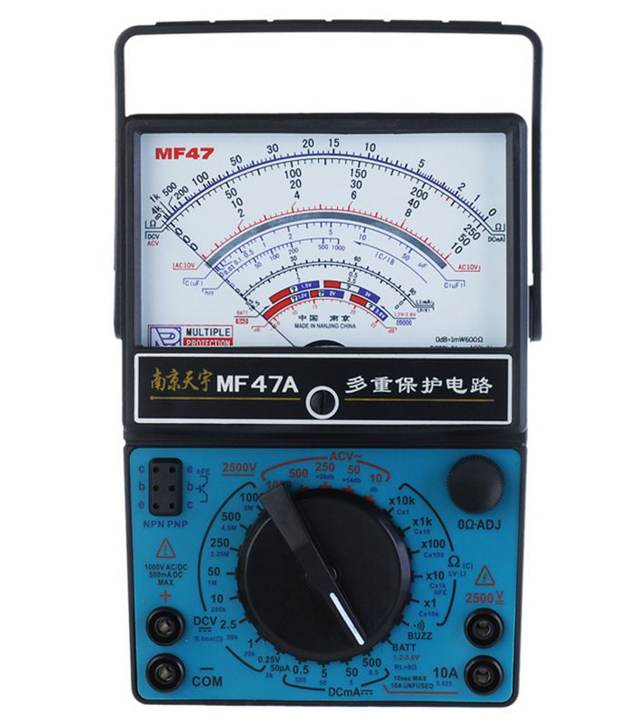 TY MF 47A type analog multimeter / fully functional / AC