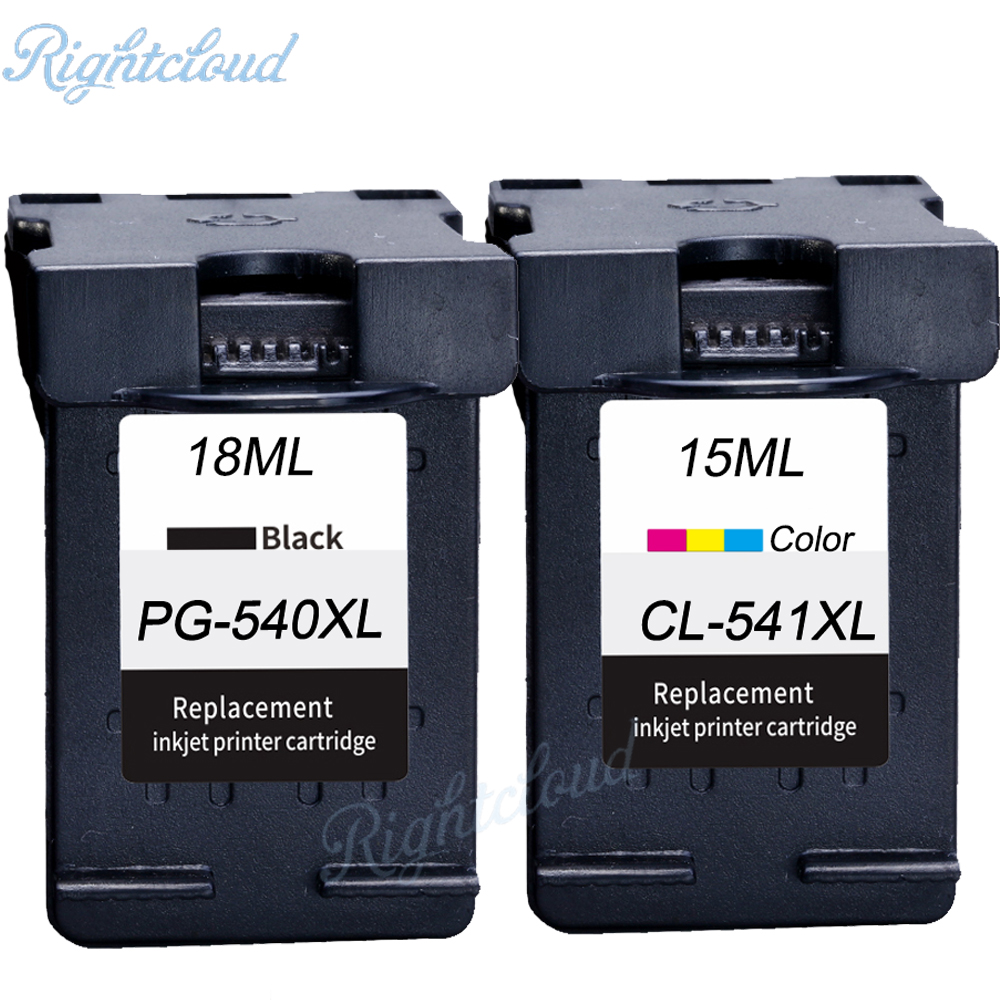 for Canon 540 541 XL PG540 CL541 ink cartridge Suitable for Canon MG2150 MG2250 MG3150 MG3250 MG3550 MG4150 MG4250 MX375 hisaint for canon 540xl 541xl pg 540 cl 541 ink cartridge for canon pixma mg2150 mg2250 3150 mg3250 inkjet printer free shipping