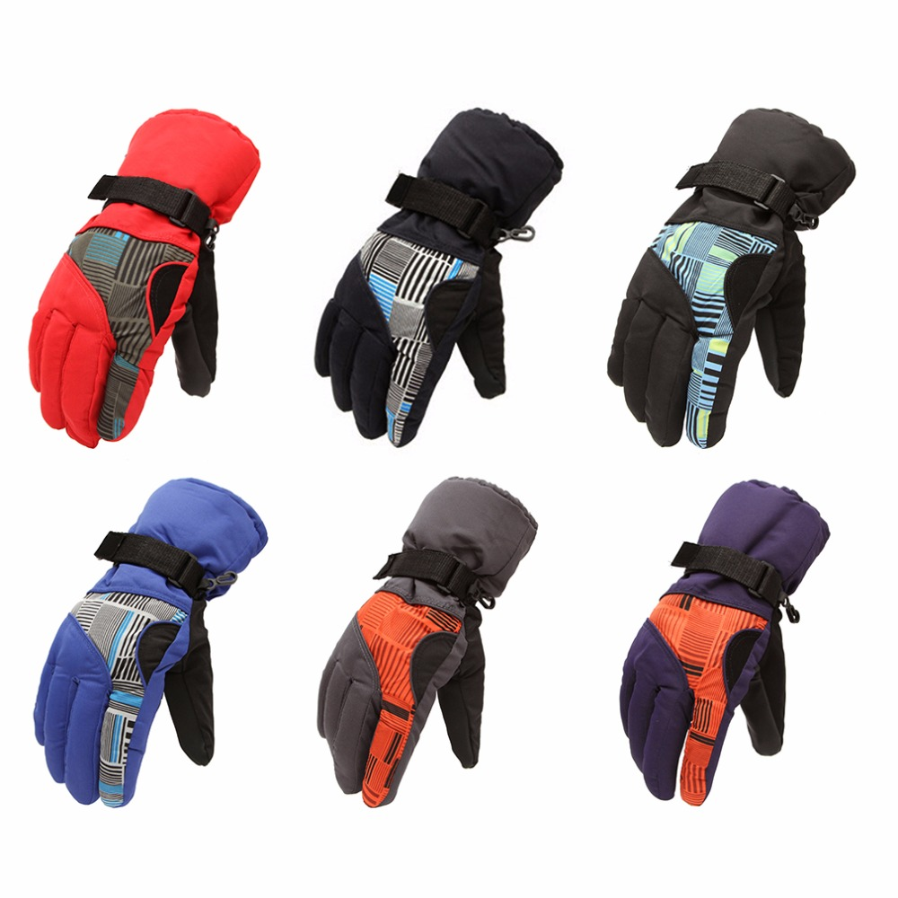 Aotu Winter Snow Outdoor Sports Waterproof Thickening Climbing Mountain Skiing Gloves Man Riding Cycling Glove In Stock