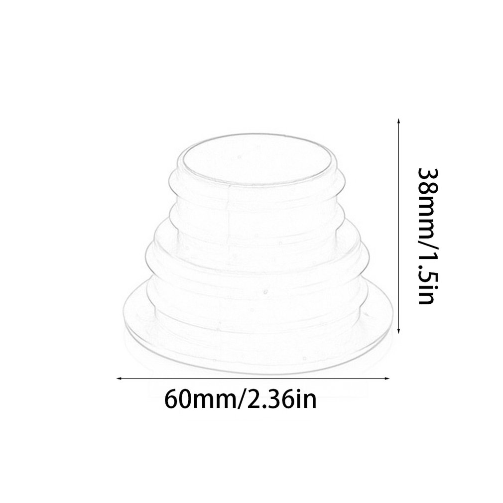 Pipe Pest Control Anti-odor Deodorant Silicone Gel Seal Ring Washing Machine Pool Floor Drain Sealing Plug