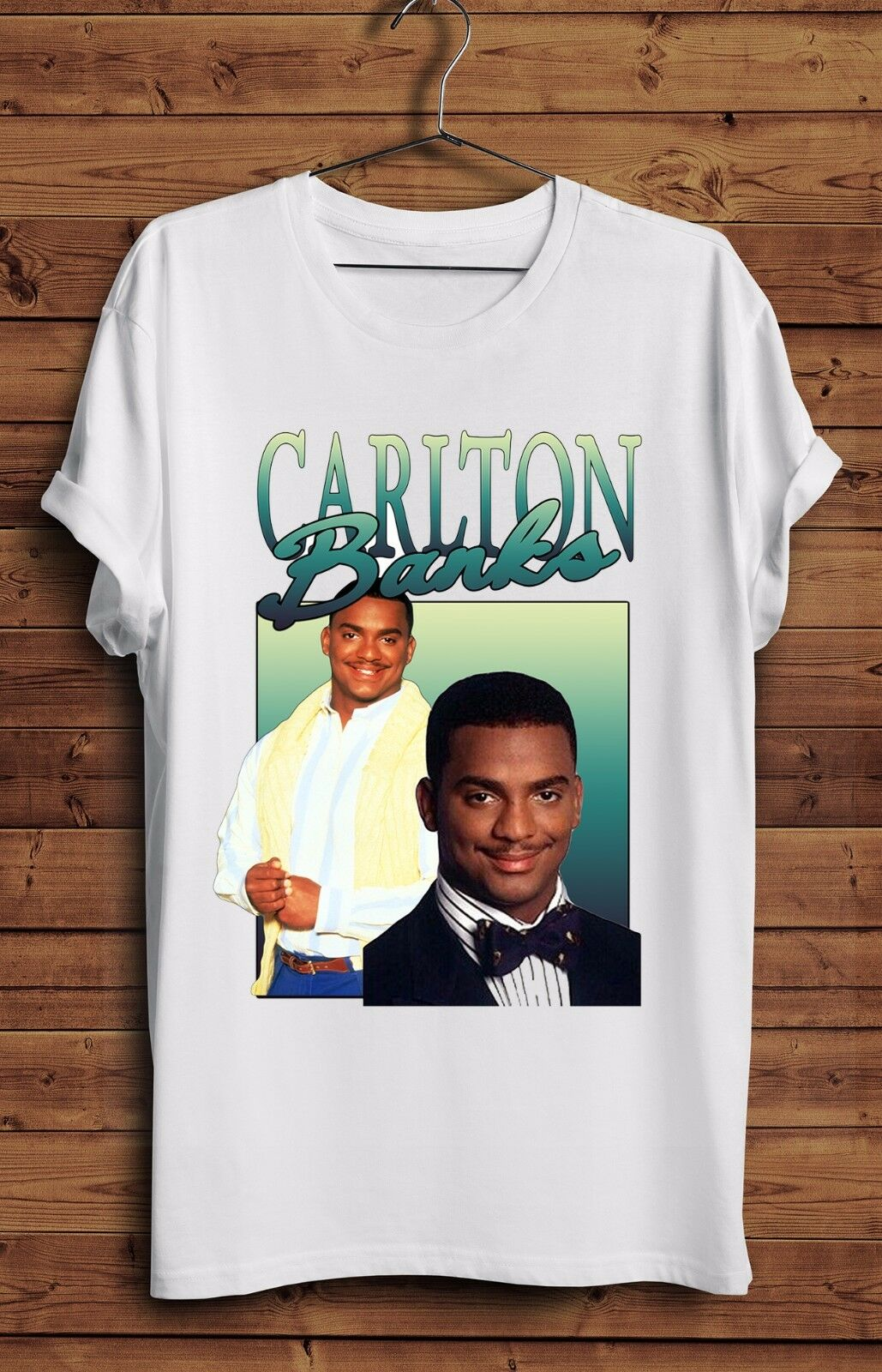 Carlton Banks T Shirt The Fresh Prince Bel Air 90s Homage Willl Smith Vintage