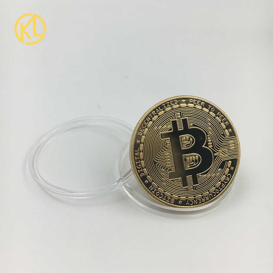 Não-Moedas moeda Bitcoin/Ethereum/Litecoin/Traço/Ondulação/Monero/EOS moeda 7 tipos de Moeda Comemorativa Drop Shipping