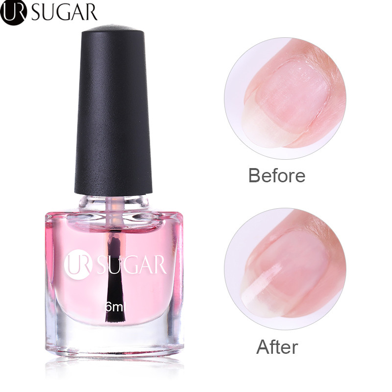 UR SUGAR Nail Cuticle Oil Transparent Cuticle Revitalizer Nutrition Oil Flower Flavor Nail Art Treatment Care Tools Manicure image