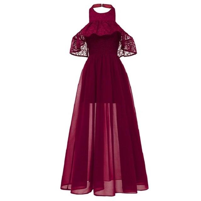 Летние праздничные платья для девочек от 14 до 20 лет, красивые платья для подростков шифоновое кружевное платье принцессы с подвеской на спине
