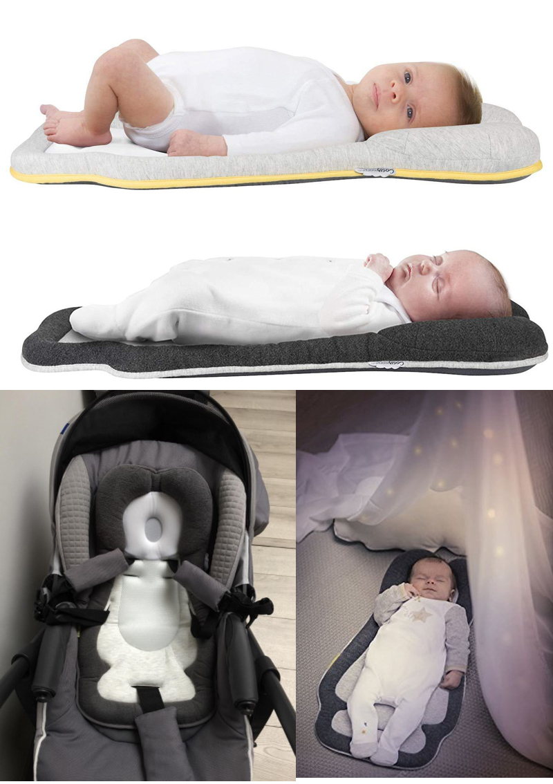 Baby Cosysleep Correct Sleeping Position Pillow Anatomical Sleep Positioner Childre Rollover Prevention Mattress 0 To 6months