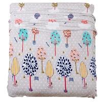Fleece Printing Coral Carpet Children Adult Blanket Leaves Printed Blanket Bedding Plush Polar Fleece Blanket For