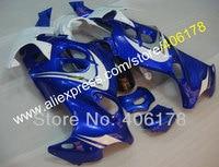 Hot Sales,Hot sale 98-07 Katana ABS moto Fairing For Suzuki GSX750f GSX600f 1998-2007 Blue White Bodywork Motorcycle Fairing