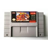 Super nintendo sfc/snes game street fighter ii turbo hyper fighting cartucho de jogo de vídeo console ntsc cartão inglês dos eua versão