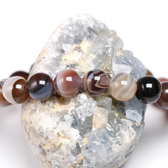Agate Du Botswana Bracelet