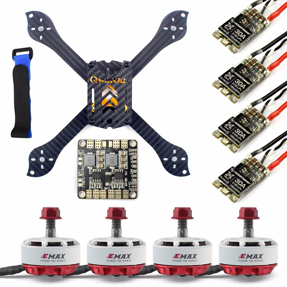 DIY Accesory Kit 210mm X Shape Frame RS2306 Brushless Motor 30A ESC with PDB 5V BEC for FPV Racing Drone Quadcopter Multicopter f04305 sim900 gprs gsm development board kit quad band module for diy rc quadcopter drone fpv