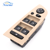 Car Accessories Beige Panel Power Window Switch Console Left For BMW E90 318i 320i 325i 335i